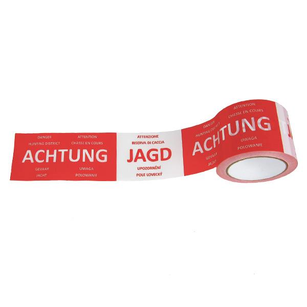 Absperrband - Achtung Jagd - 100 m