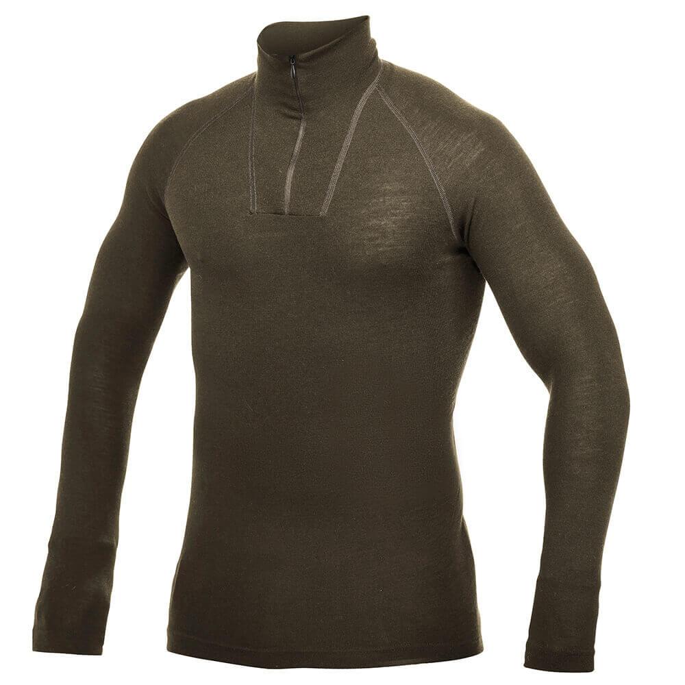 Woolpower Shirt Zip Turtleneck Lite - Unterwäsche