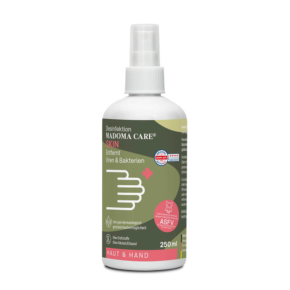 Madoma Care Handdesinfektion Hunter - 250 ml - Pflegeartikel & Zubehör