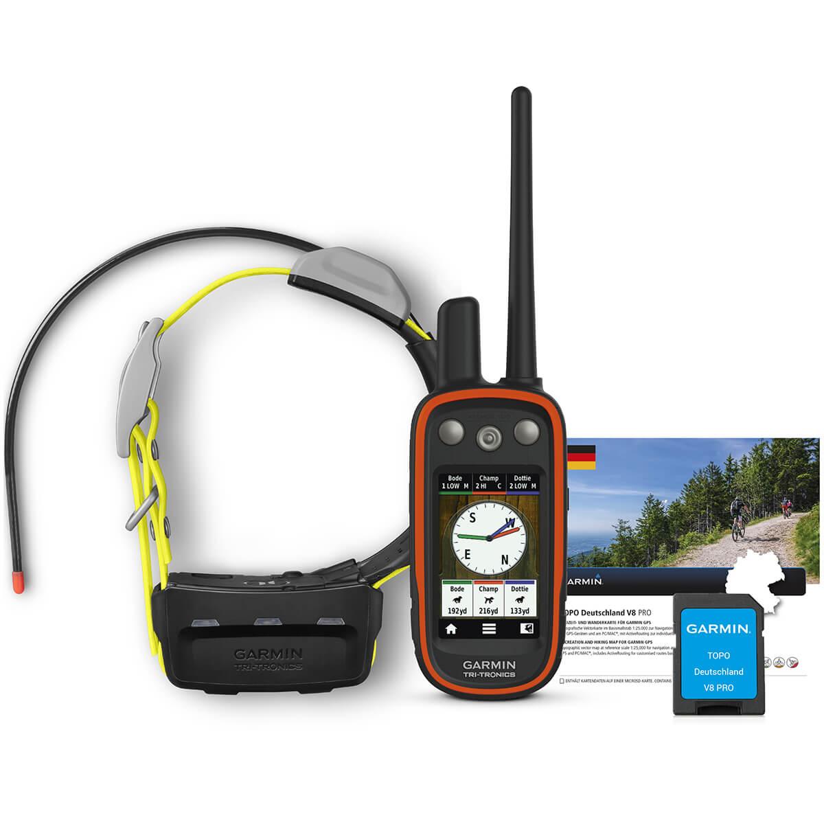 Garmin GPS-Ortungsgerät Atemos 100 + K5 + Topo V9 - Hundeortung