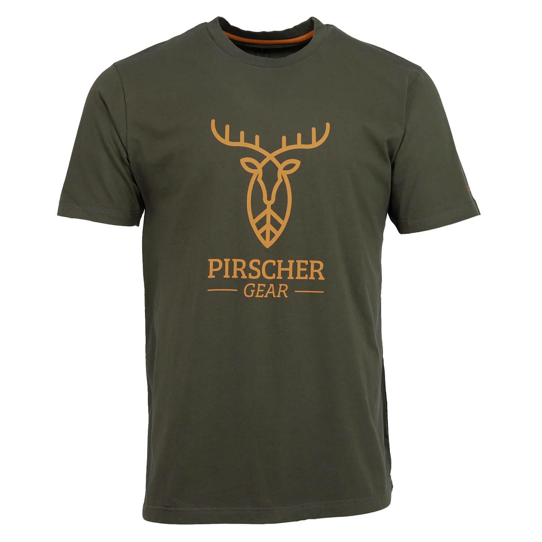 Pirscher Gear T-Shirt Full Logo (Grün) - Pirscher Gear