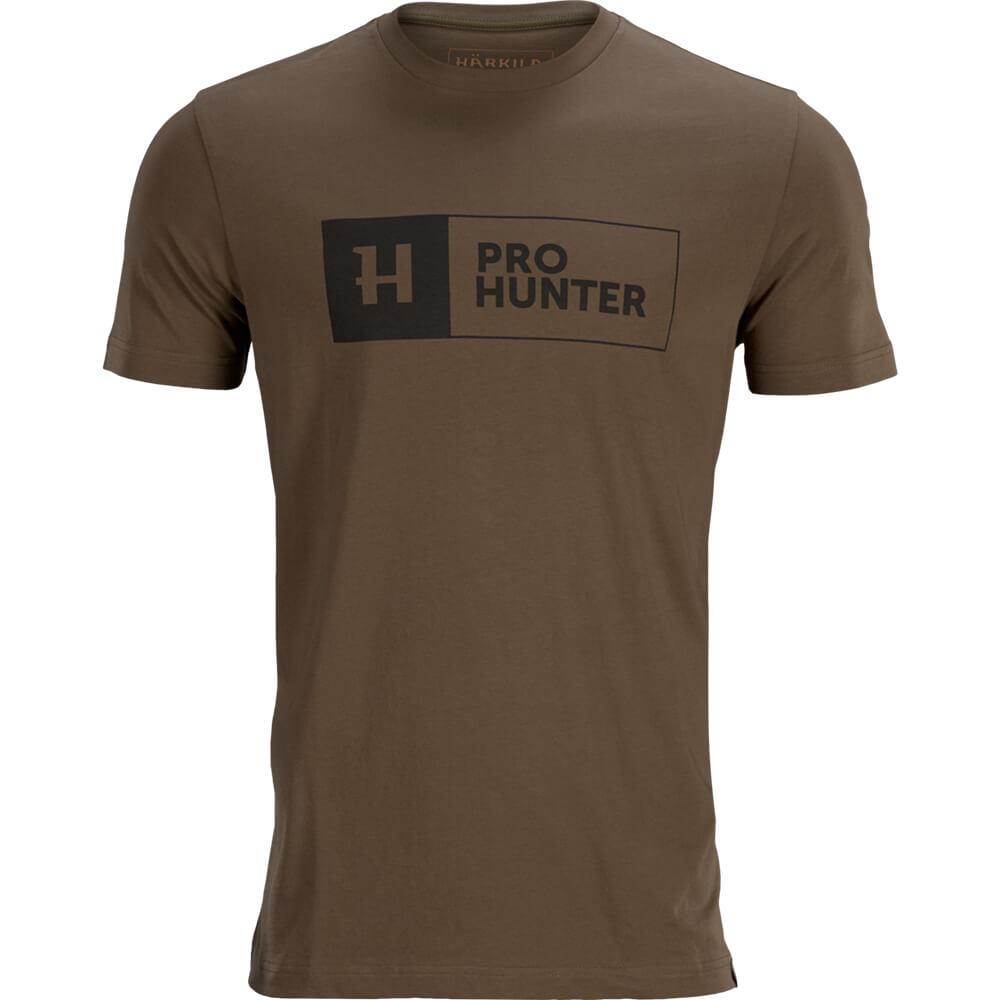 Härkila T-Shirt Pro Hunter (Slate Brown) - Sommer-Jagdbekleidung
