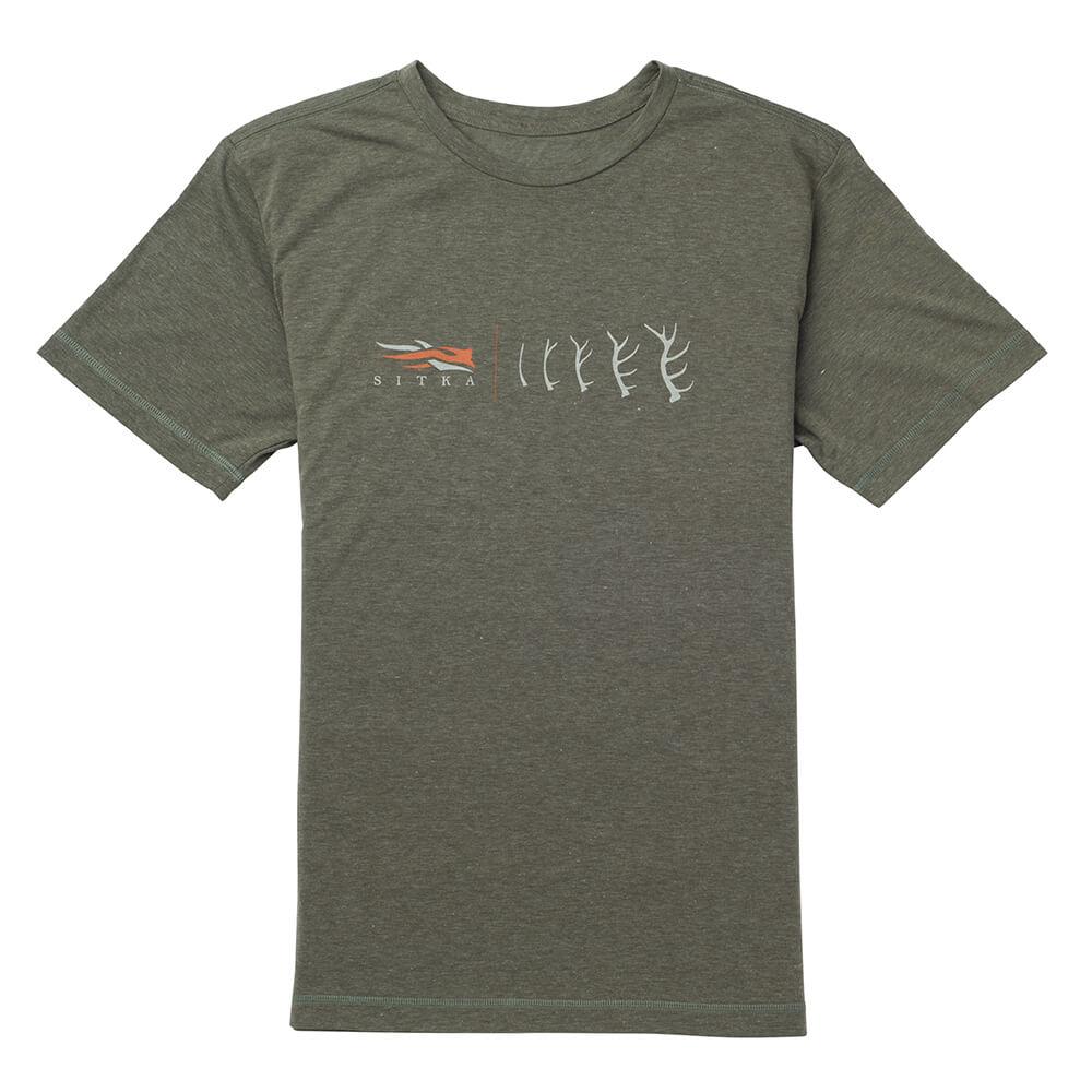 Sitka Gear T-Shirt Antler Evolution (olive) - Geschenke für Jäger