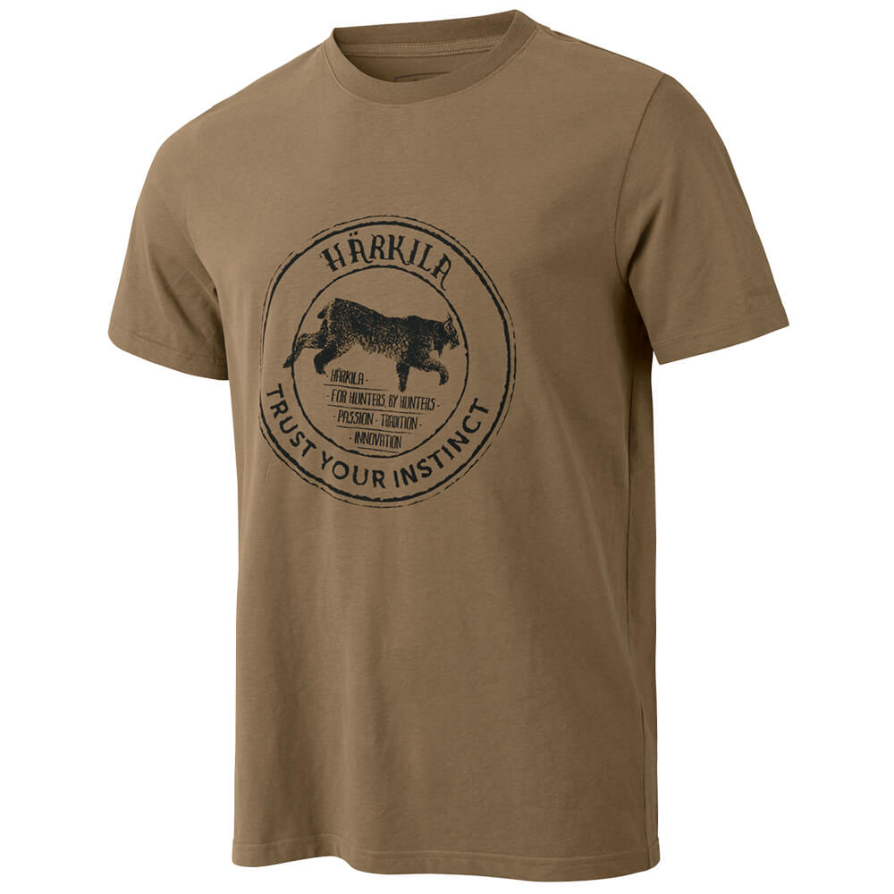 Härkila Wildlife Lynx T-Shirt - Hemden & Shirts