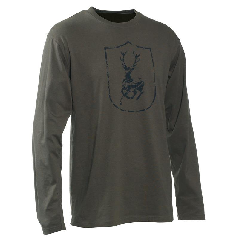 Deerhunter Logo Langarm Shirt - Wappen