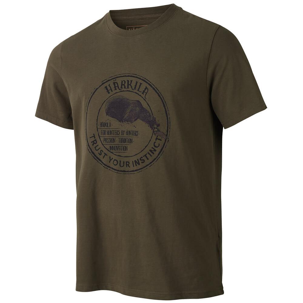 Härkila Wildlife Bear T-Shirt - Hemden & Shirts