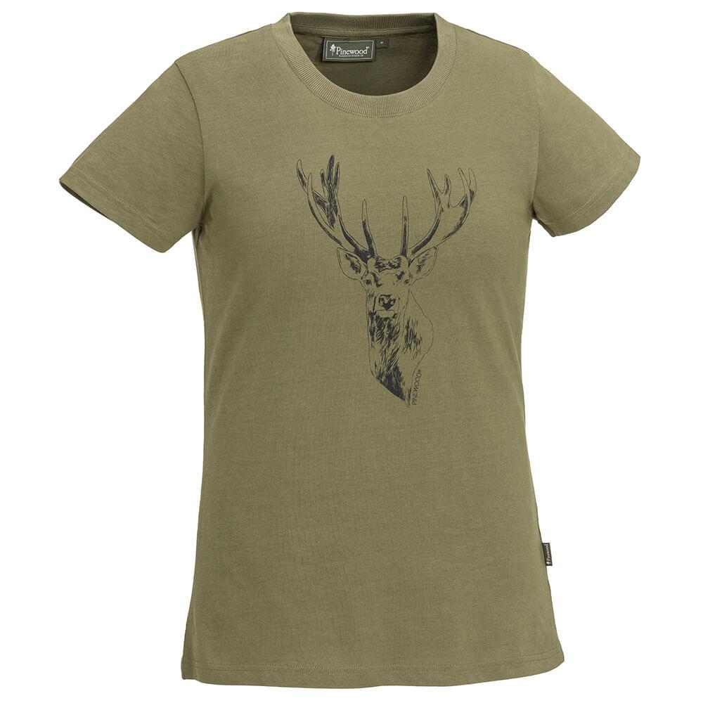 Pinewood Damenshirt Red Deer - Neu im Shop
