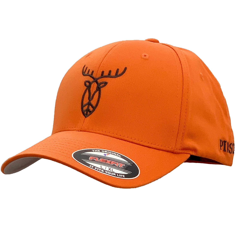 Pirscher Gear Cap Logo (Orange) - Pirscher Gear