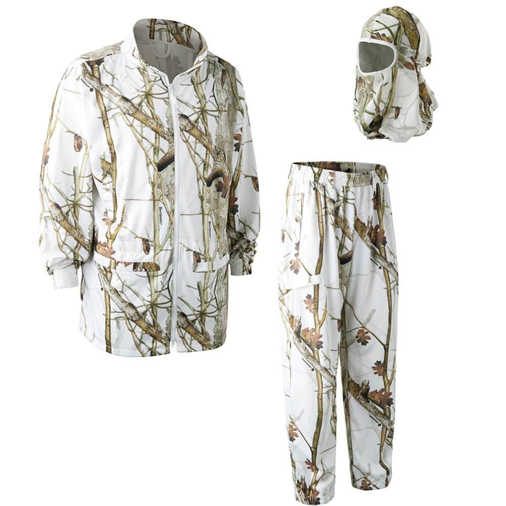 Deerhunter Schnee-Tarnanzug - Schneetarn Kleidung