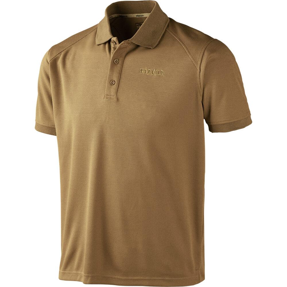 Härkila Gerit Polo Shirt (Sand) - Hemden & Shirts