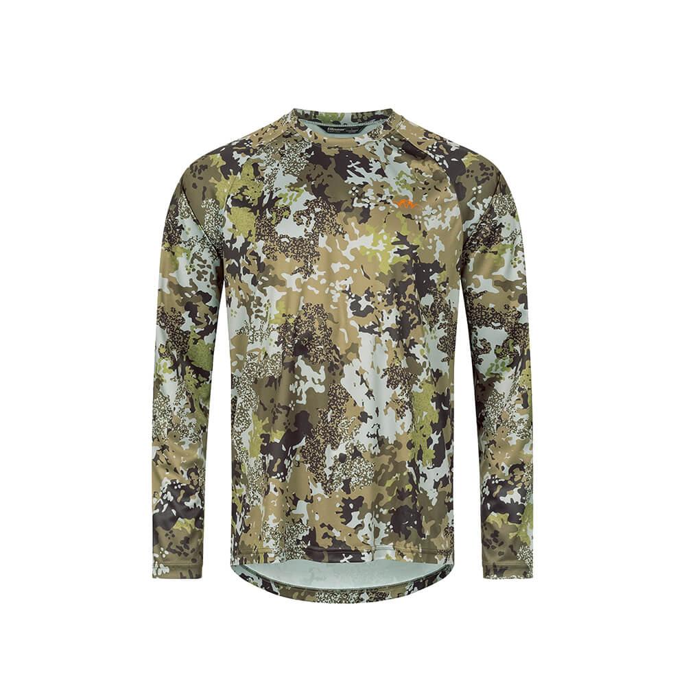 Blaser HunTec Langarm Shirt (Camo) - Blaser Huntec