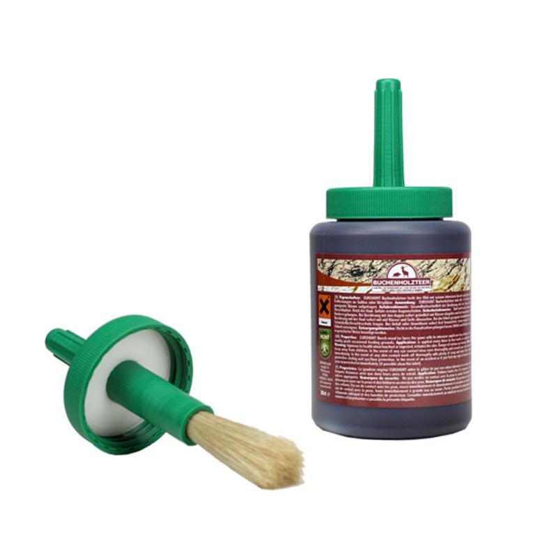 Buchenholzteer mit Pinsel - 500 ml - EUROHUNT