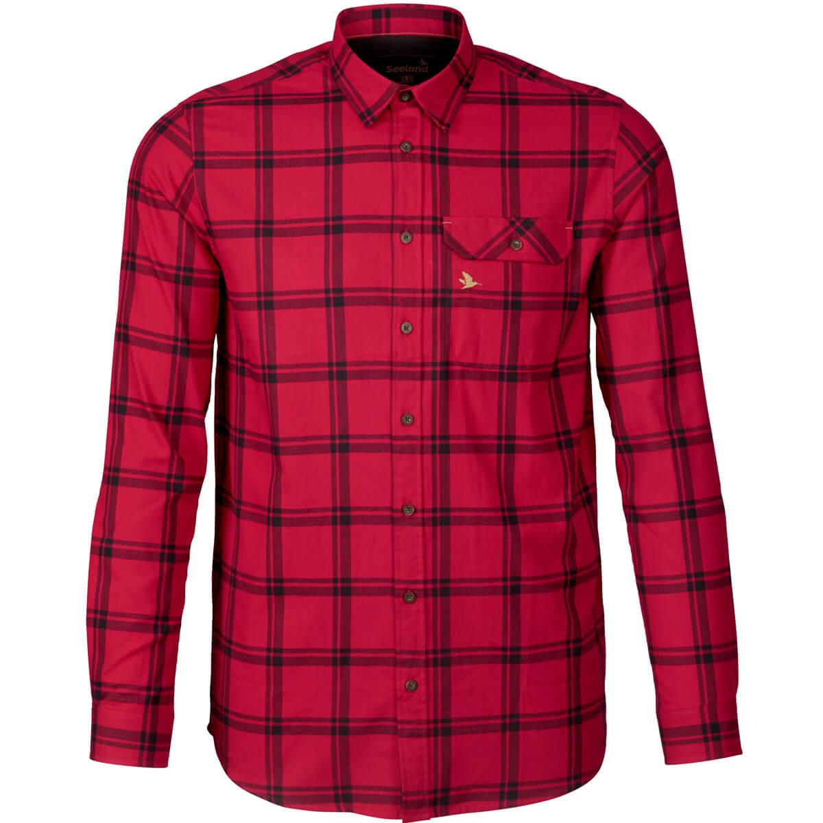 Seeland Hemd Highseat Hunter (rot) - Jagdhemden