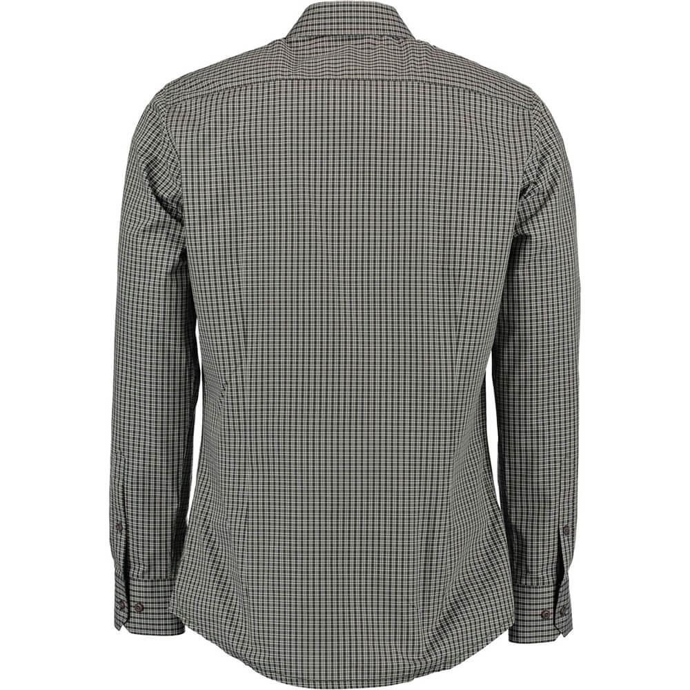 OS Trachten Hemd Slimfit (oliv)