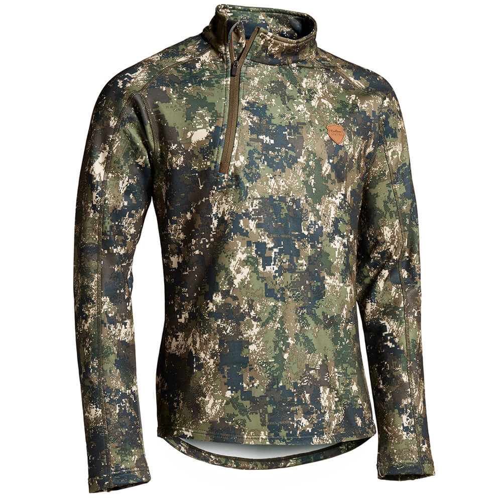 Northern Hunting Svart Fleece Shirt - Shirts