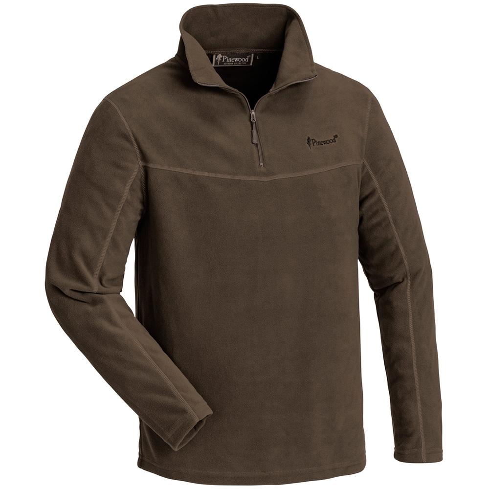 Pinewood Tiveden Fleece Sweater (braun)