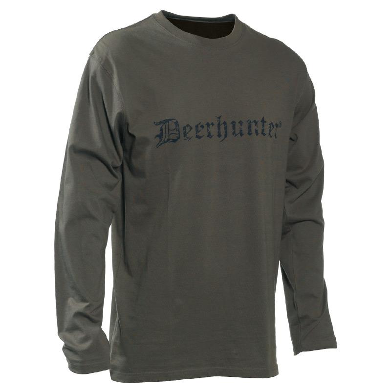 Deerhunter Logo Langarm Shirt