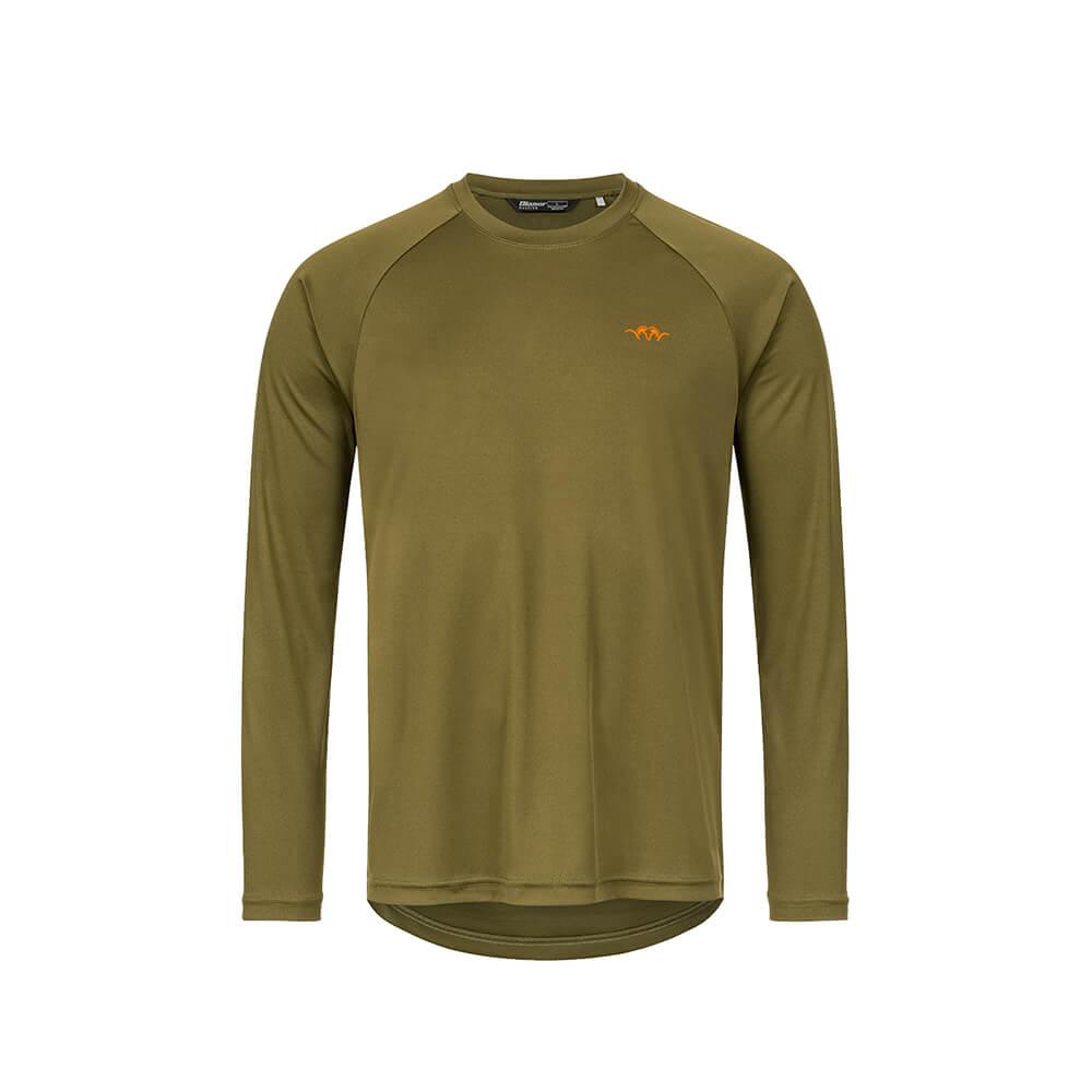 Blaser HunTec Langarm Shirt (Grün) - Blaser Huntec