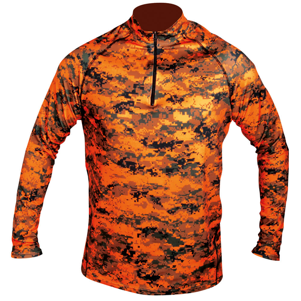 Hart Langarm Shirt Aktiva-Z (Pixel Blaze) - Unterwäsche