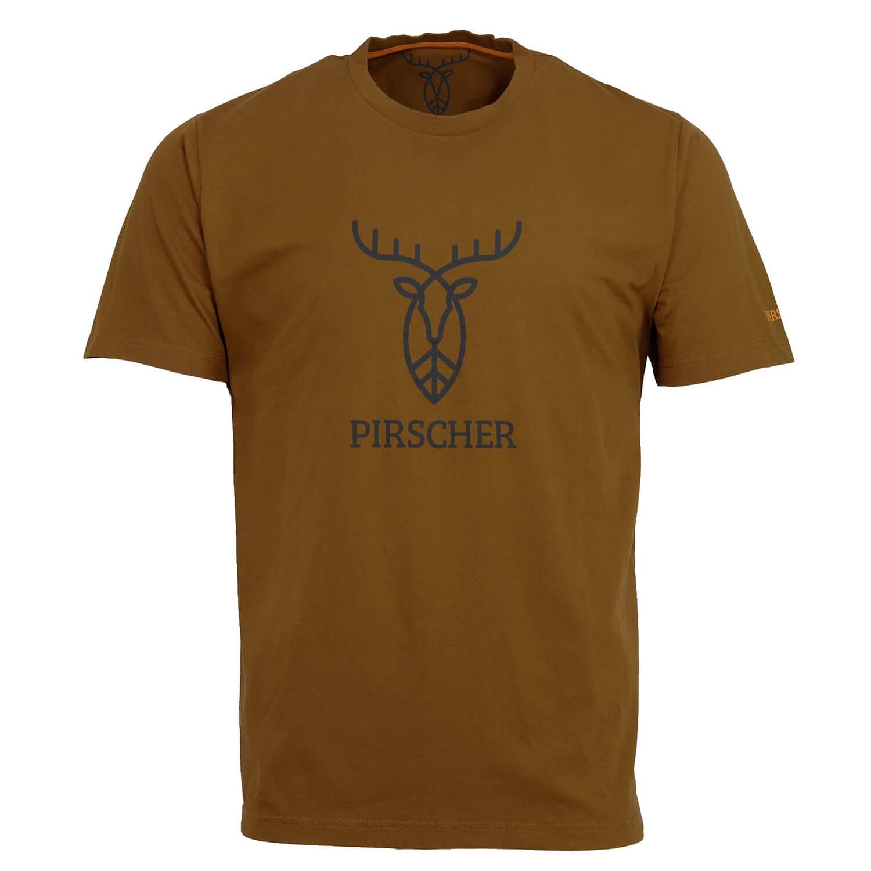 Pirscher Gear T-Shirt Logo (Rost)