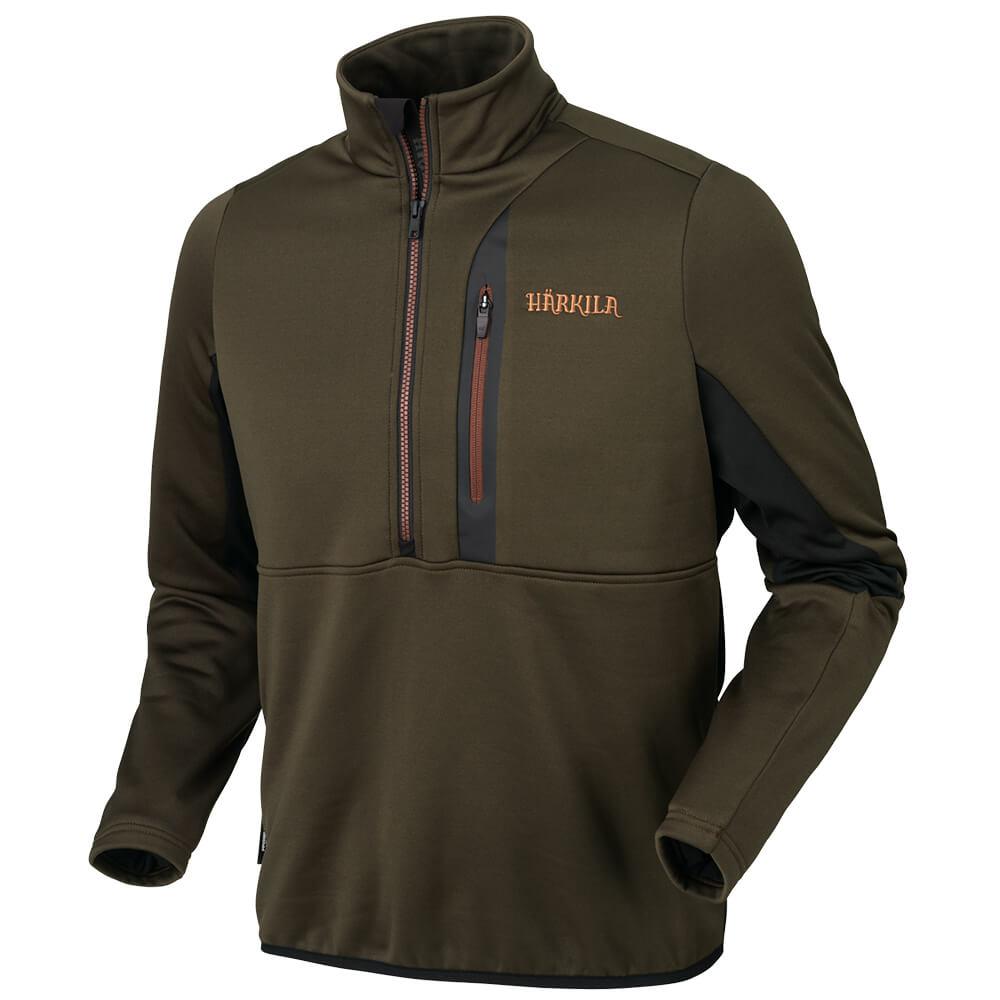 Härkila Tidan Hybrid Half Zip Fleece Anorak - Blattjagd