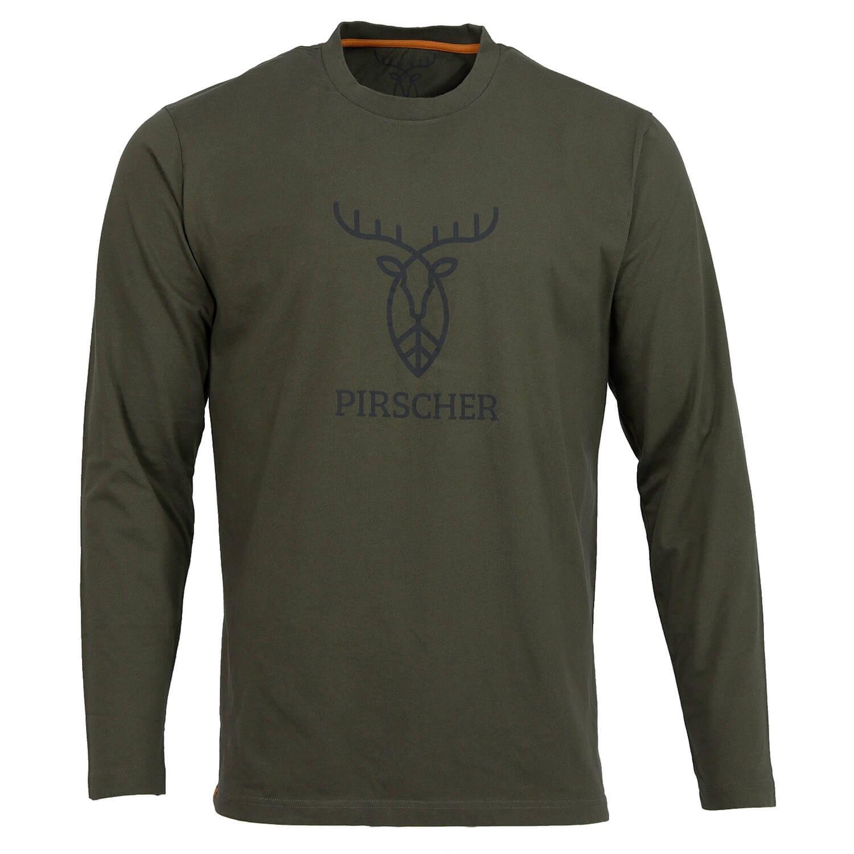 Pirscher Gear LS Shirt Logo (Grün) - Pirscher Gear
