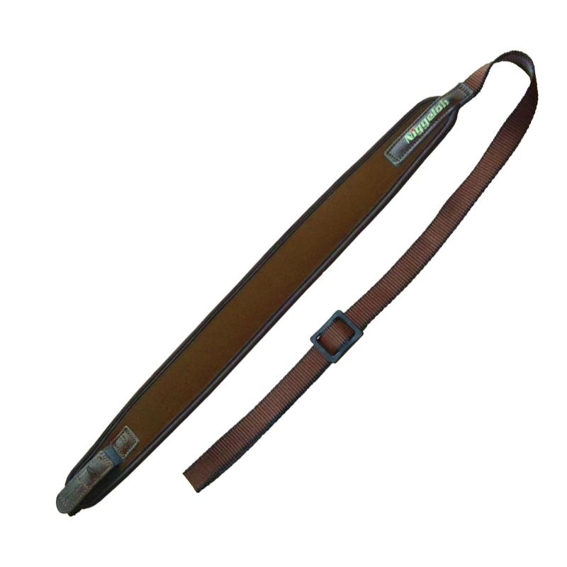 Niggeloh Gewehrgurt mit Schnellverschluss (braun)