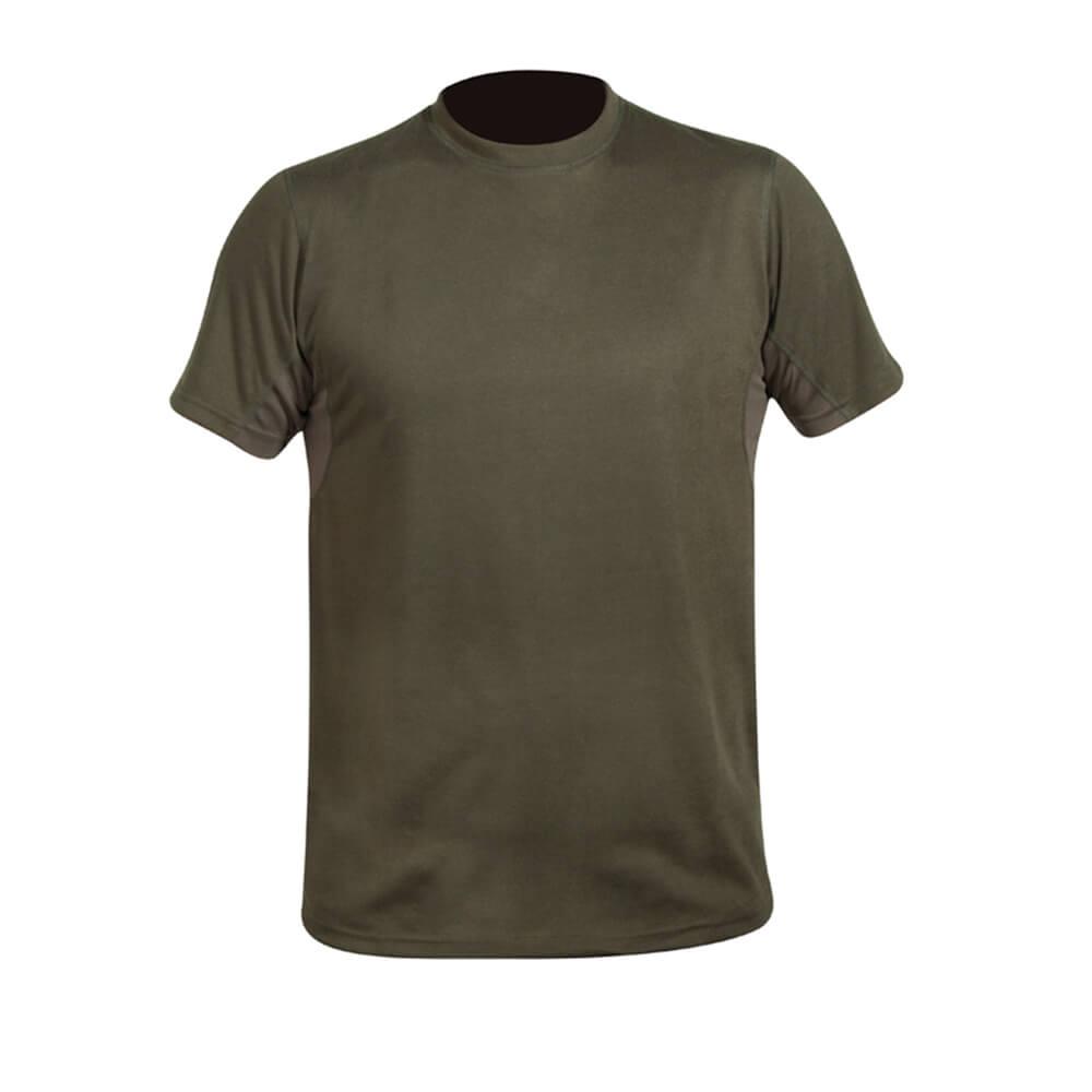 Hart T-Shirt Crew-S (Dark olive) - Sommer-Jagdbekleidung