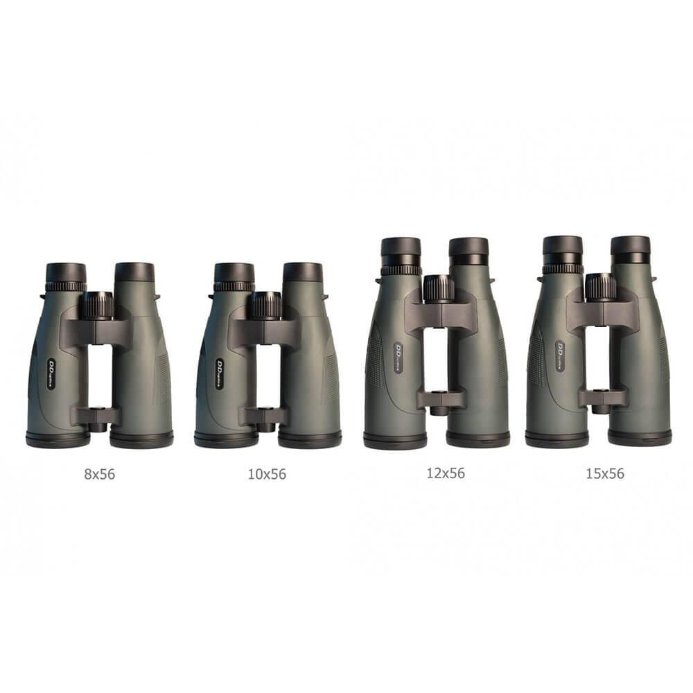 DDoptics Fernglas Pirschler 12x56 Gen. 3