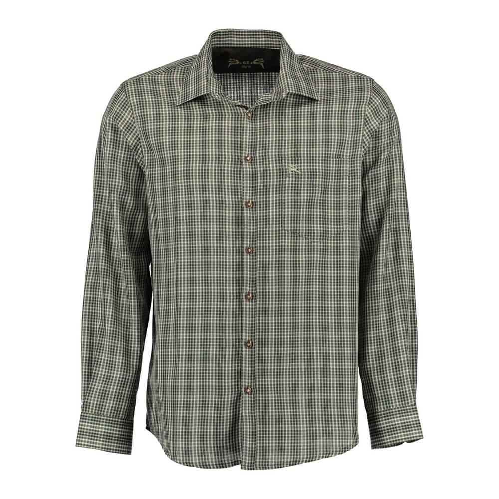 OS Trachten Hemd Regular fit (oliv) - OS Trachten