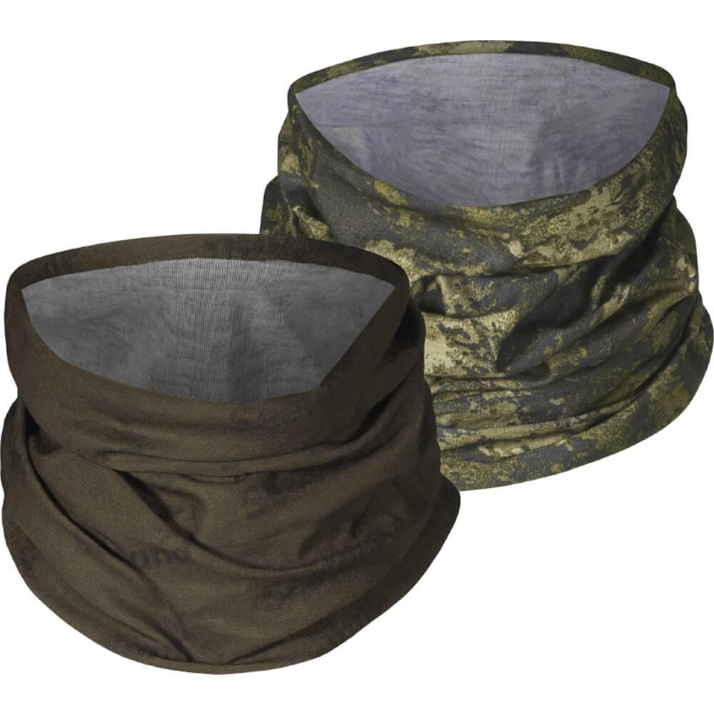 Seeland Schal 2er Set (grün/ InVis-camo) - Tarnmasken