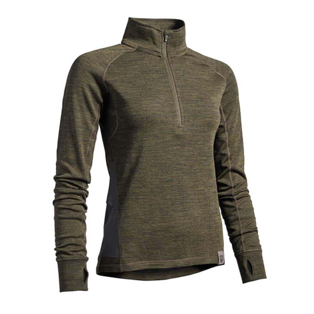 Northern Hunting Svanhild Merino Shirt - Blusen & Shirts