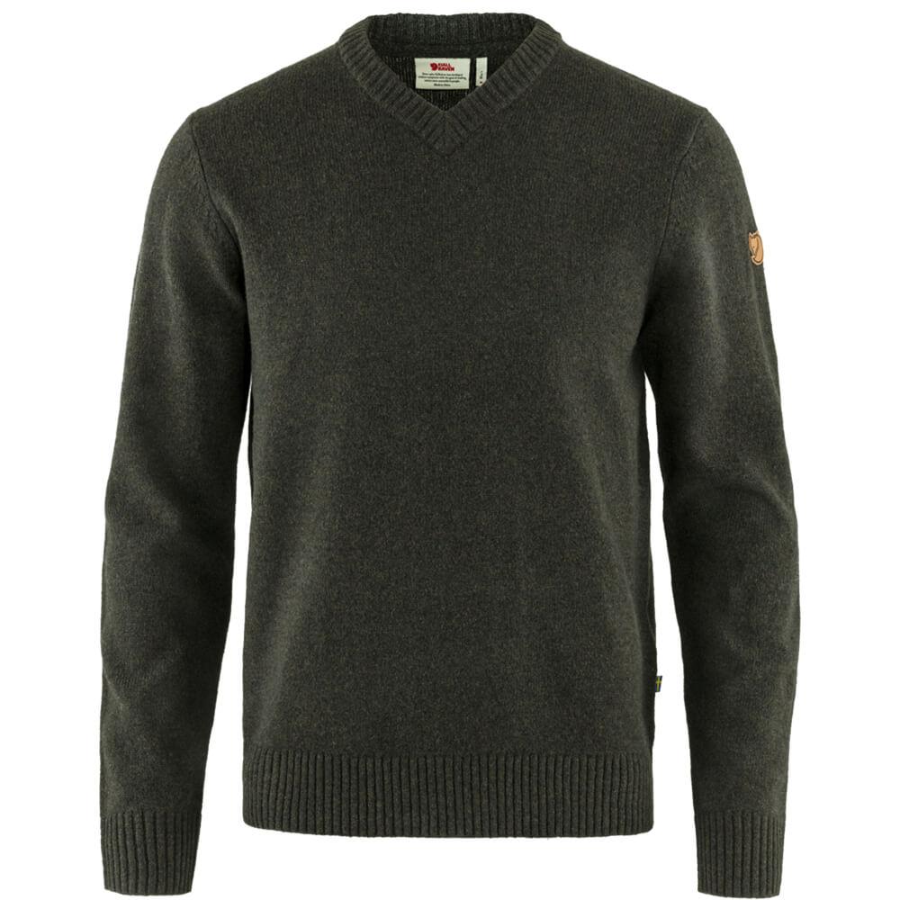 Fjällräven Sweater Övik V-Neck - Jagdpullover