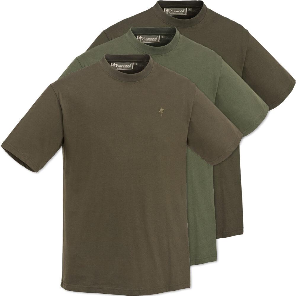 Pinewood 3er-Pack T-Shirt - Pinewood
