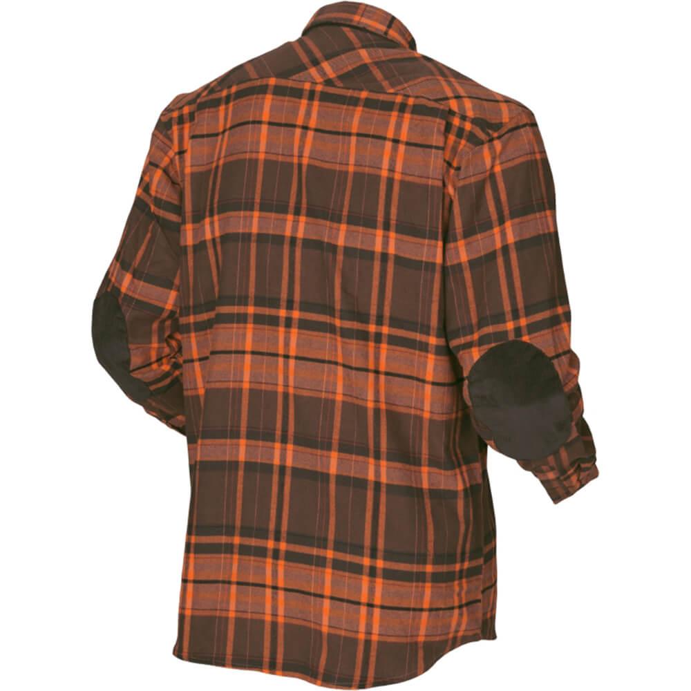 Härkila Eide Hemd (orange check)