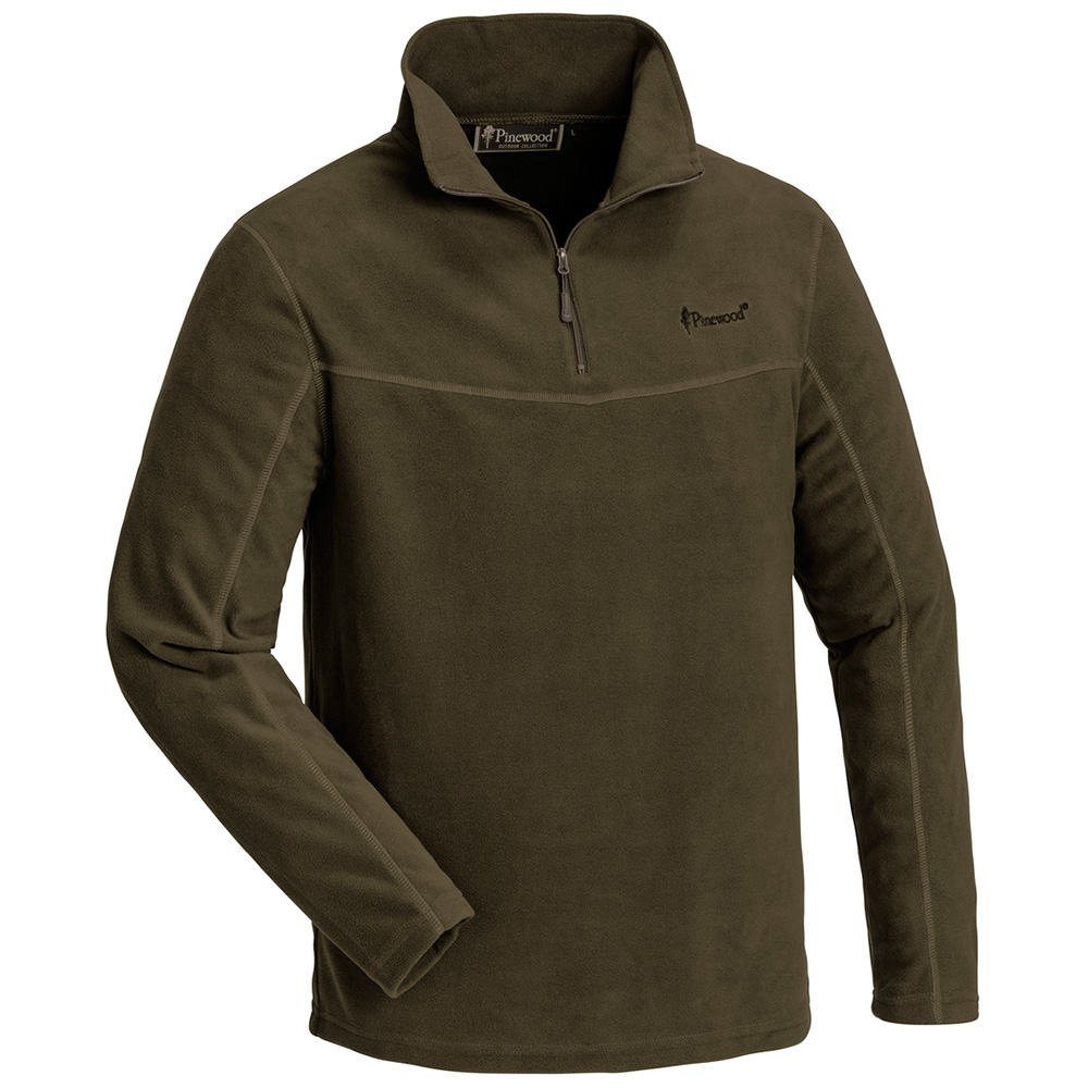 Pinewood Tiveden Fleece Sweater (grün) - Jagdpullover