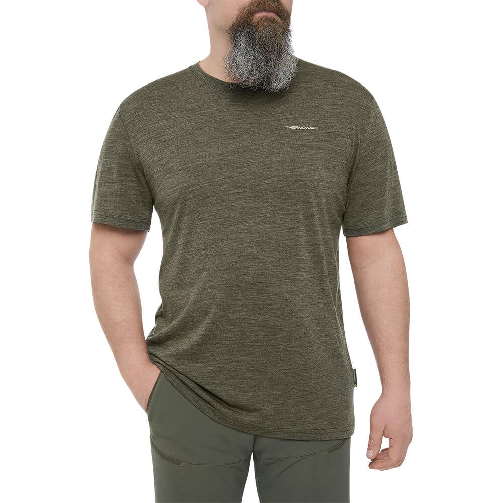 Thermowave T-Shirt Merino Life (grün) - Thermowave