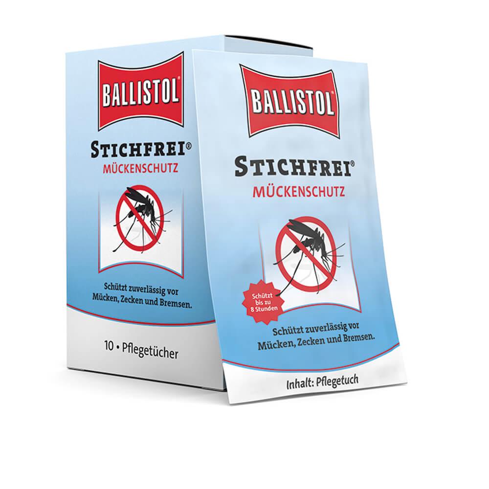 Ballistol Stichfrei Pflegetücher - Insekten- & Zeckenschutz