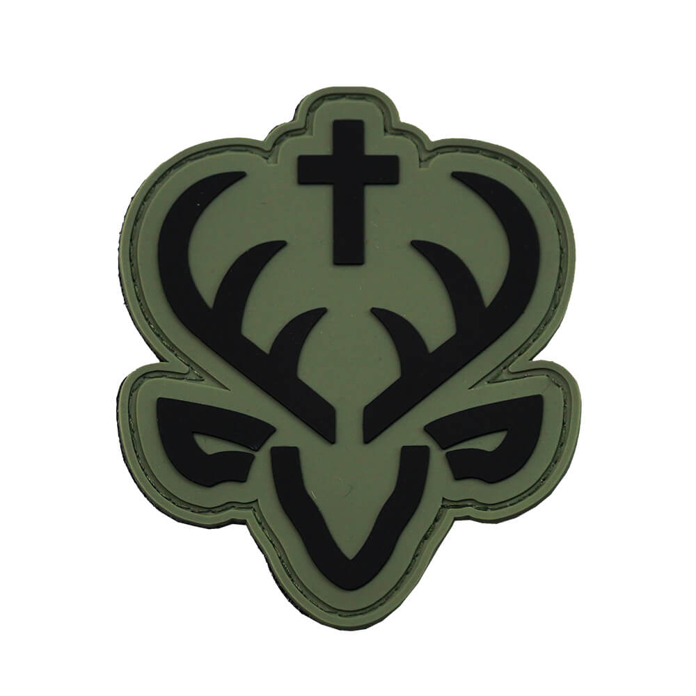 Jagdstolz Patch - Schwarz/Oliv-grau - Jagdstolz