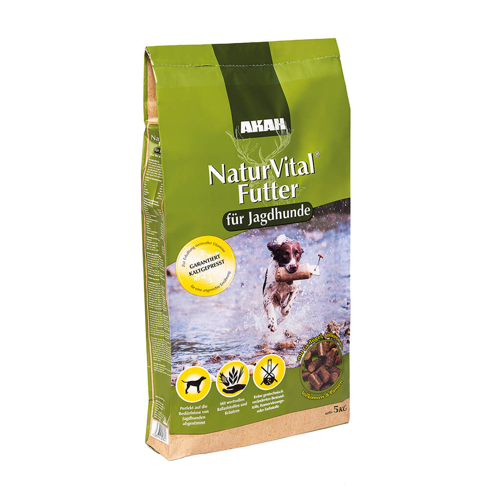 Akah NaturVital® Trockenfutter für Jagdhunde