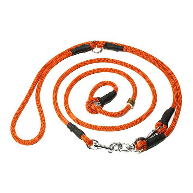 Mystique Moxon-Umhängeleine (orange) - Leinen & Halsungen