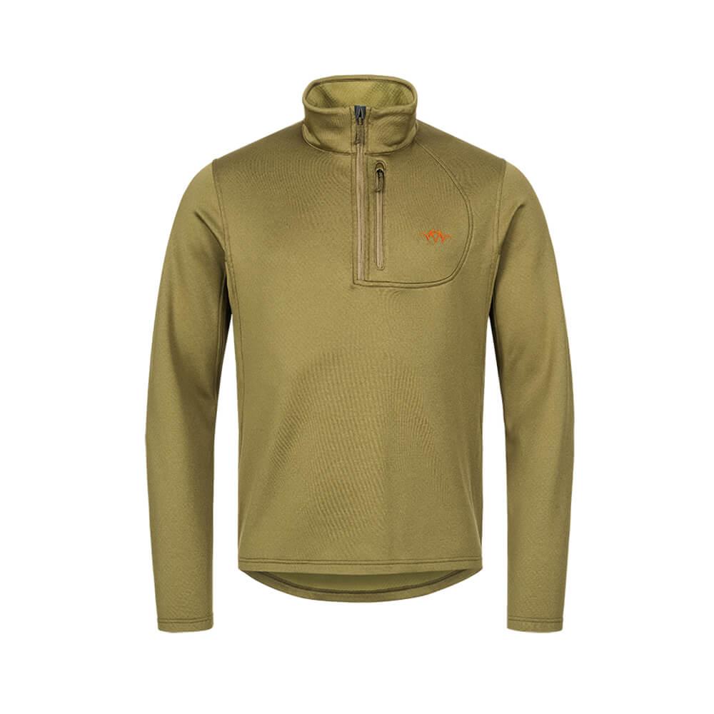 Blaser HunTec Sweater Drain (Grün) - Jagdpullover