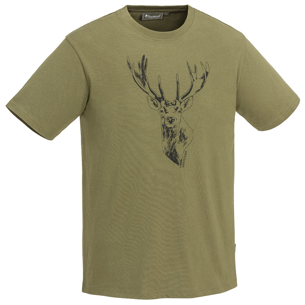Pinewood T-Shirt Red Deer