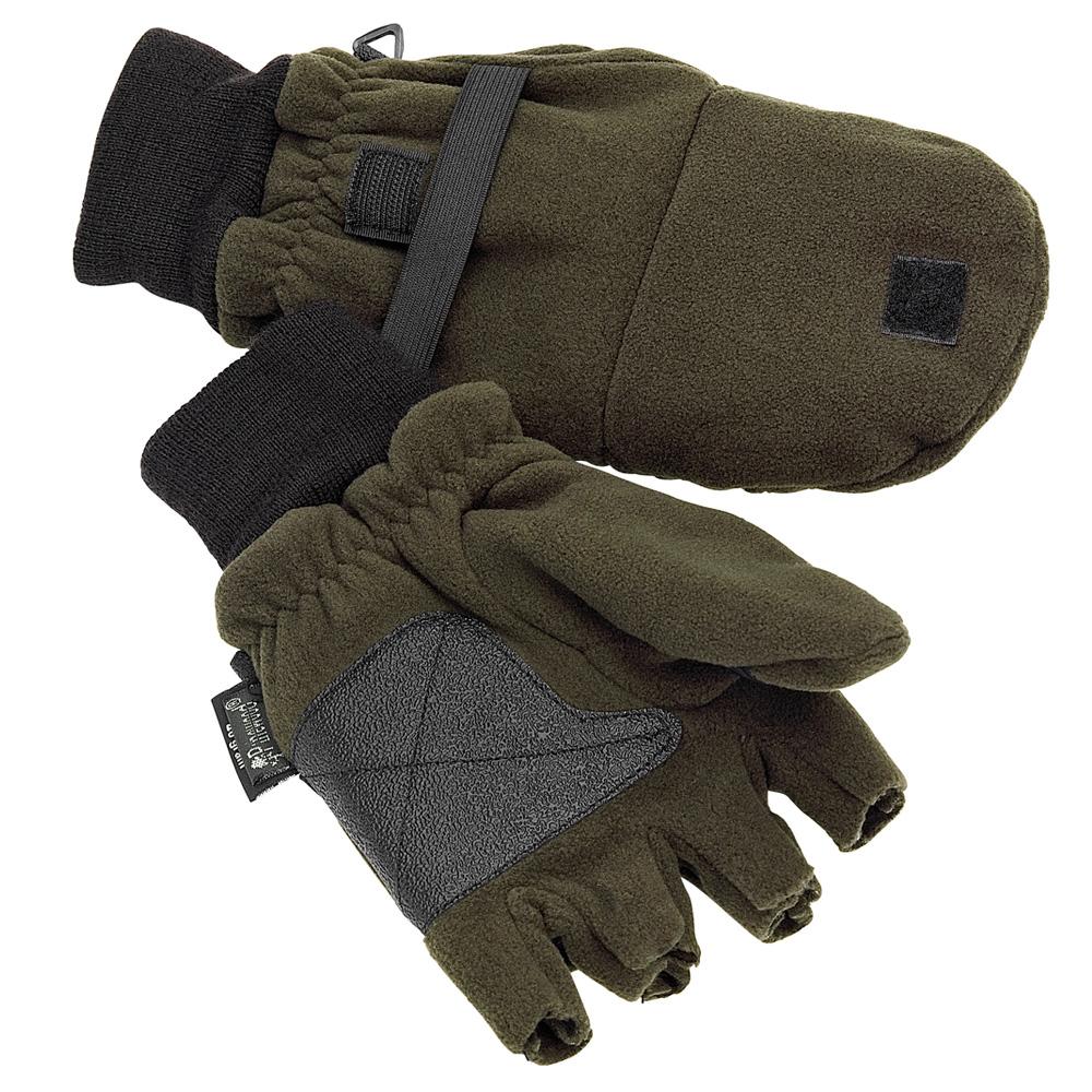 Pinewood Fleece Fäustlinge (umklappbar) - Handschuhe