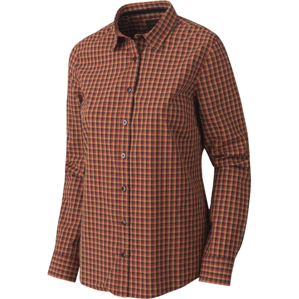 Härkila Selja Damen Hemd (red/black check) - Blusen & Shirts