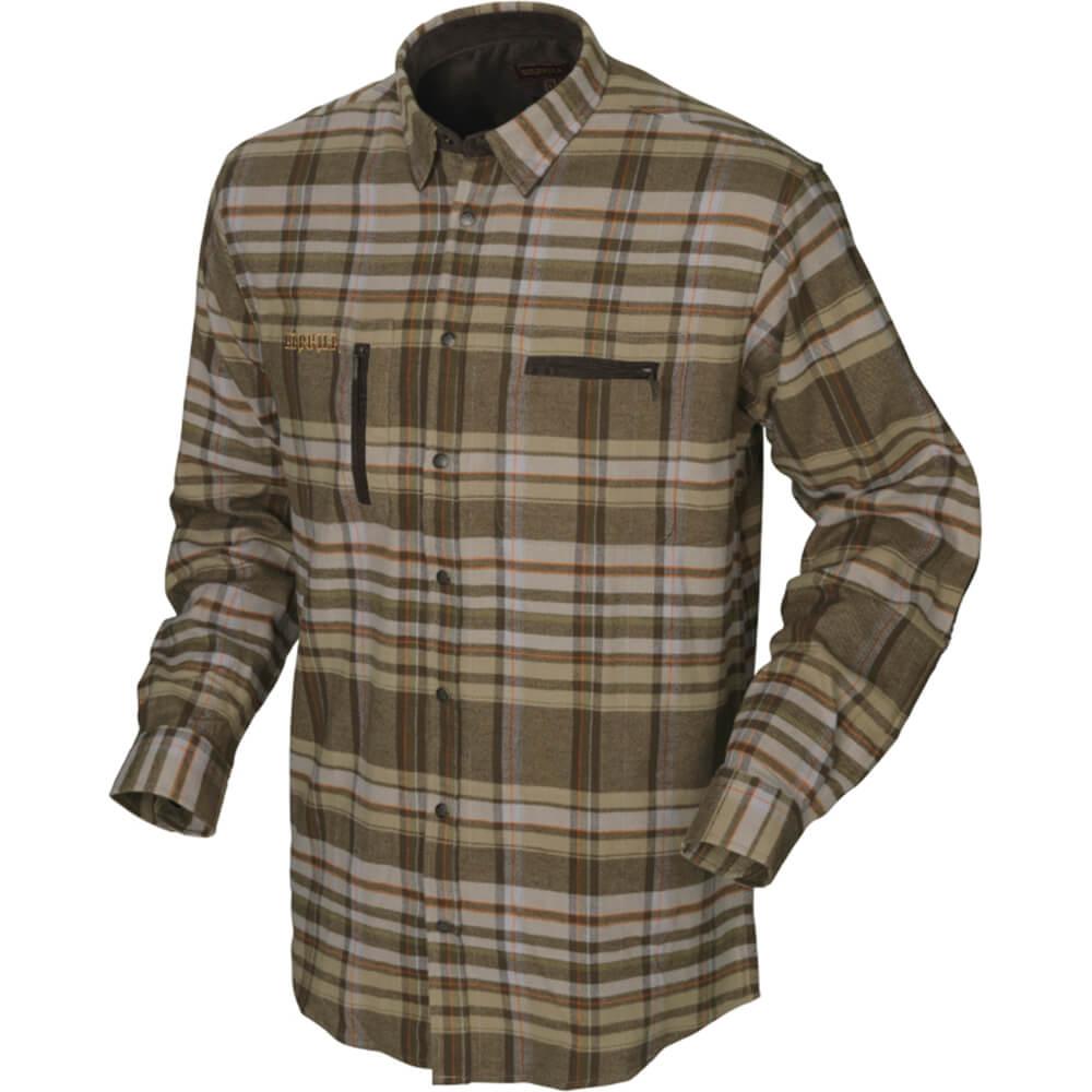 Härkila Eide Hemd (khaki check) - Jagdhemden