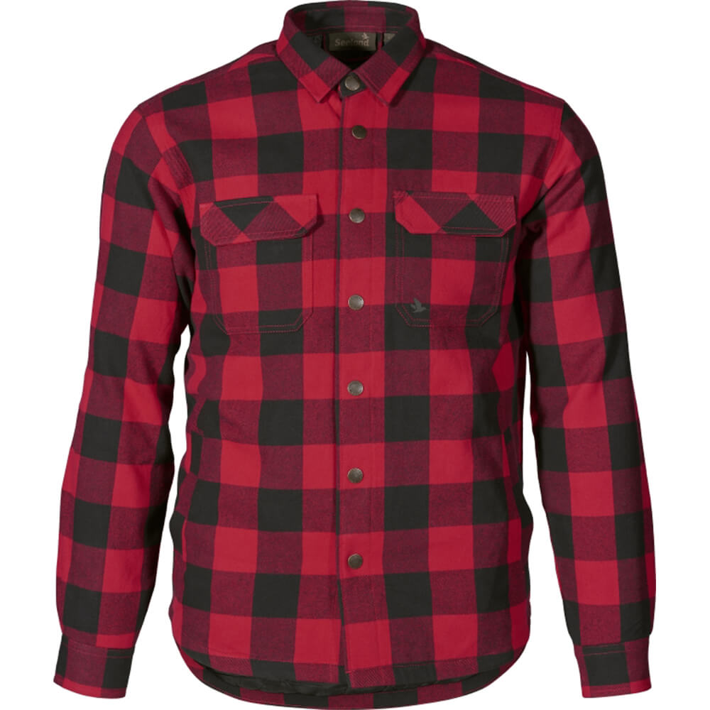 Seeland Hemd Canada (rot) - Neu im Shop
