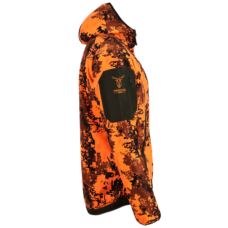 Pirscher Gear Fleece-Wendejacke Blaze