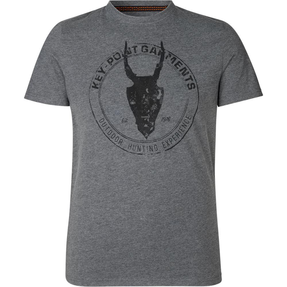Seeland T-Shirt Key-Point (Grey melange) - Shirts