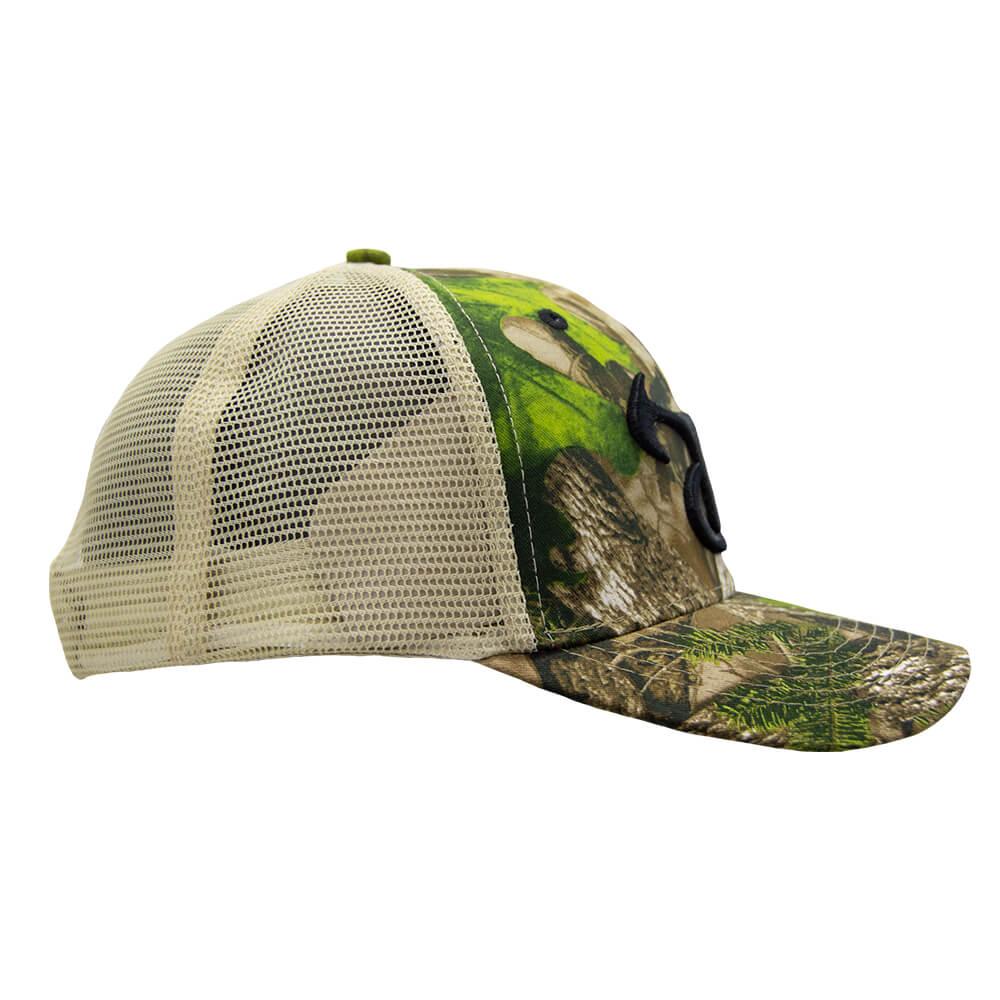 True Timber Mesh Cap HTC Green